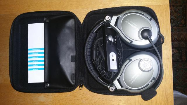 7b1be06a493 Radio & Comms, Sold - Sennheiser Noise-guard 2.0 Headset - Sold ...