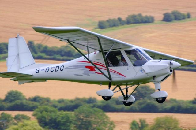 Three Axis Microlights Ikarus C42 Fb80 For Sale Old Sarum