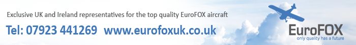 Eurofox aircraft UK