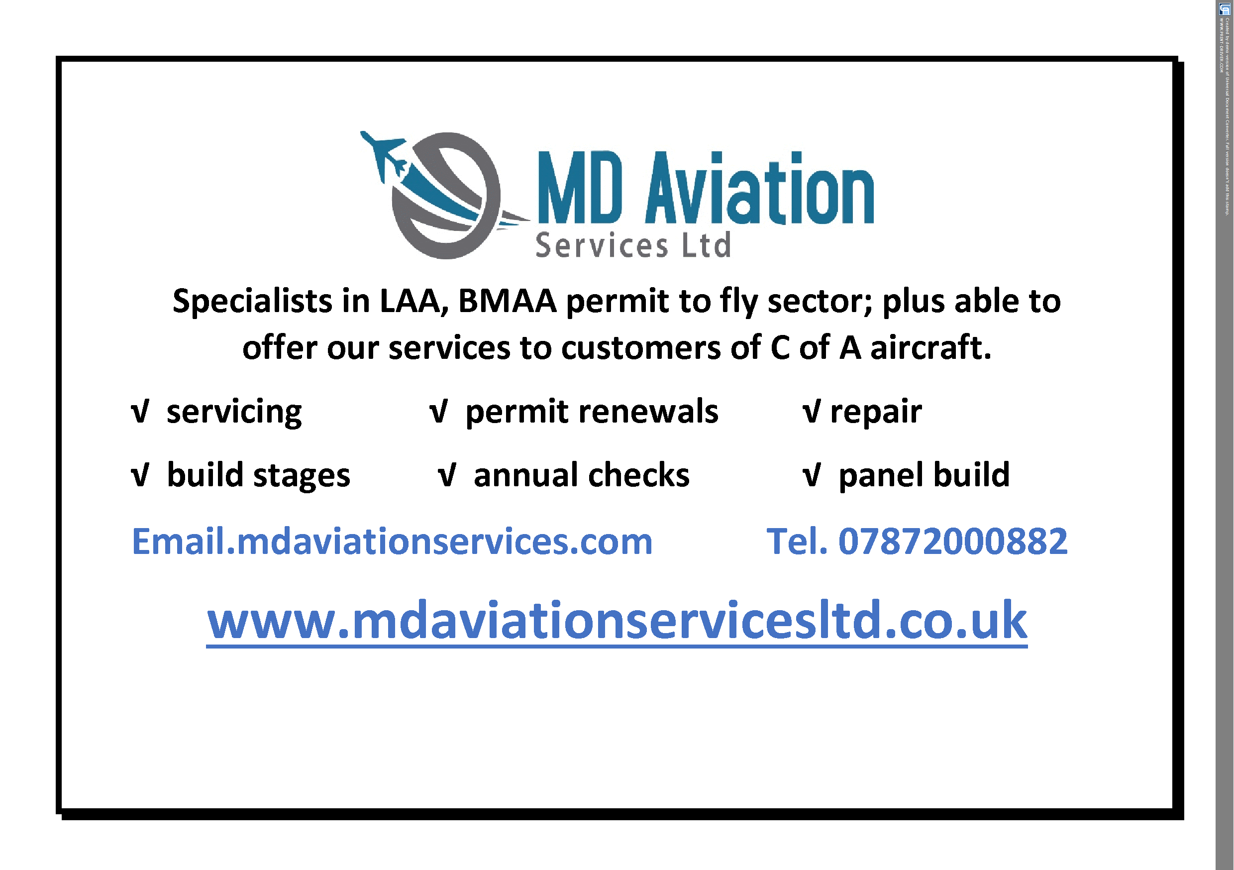 MD Aviation Services