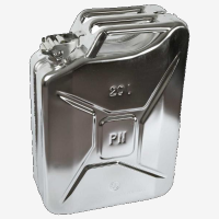 Paint in your fuel system? Get a Stainless Steel Jerry Can