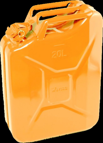 Orange Jerry Can