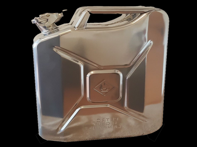 Chrome Jerry Can (Out of stock)