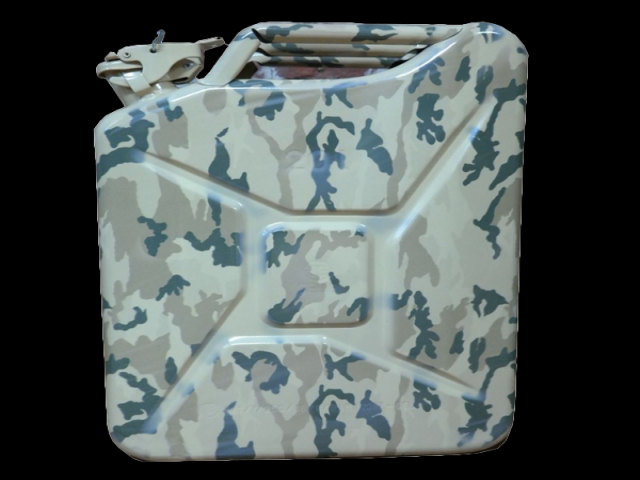 20 litre camoflaged Jerry can