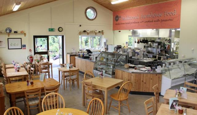 Kenyon Hall Farm shop and cafe