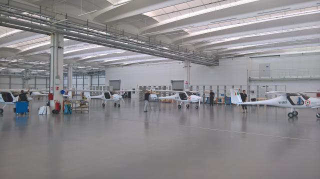 built in Pipistrel factory