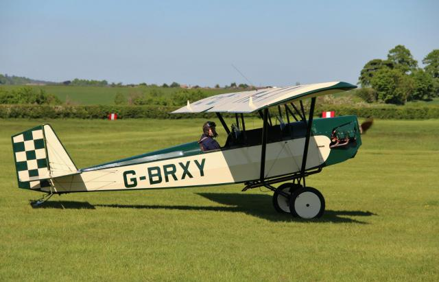 G-BRXY at Old Warden