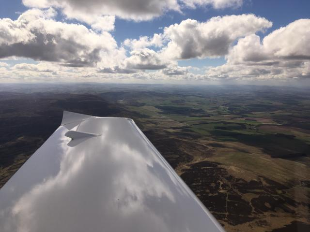 Wing view 2 - Scotland