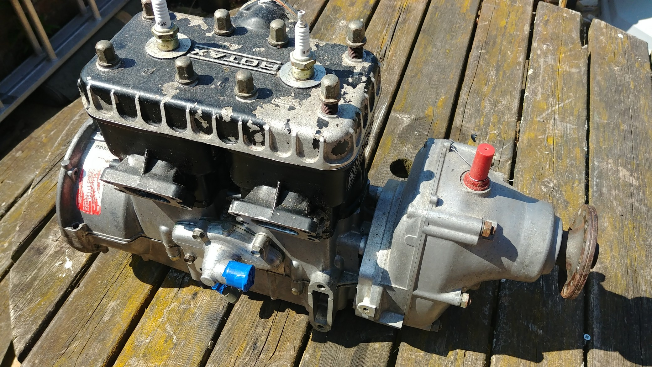 Rotax Engine Rebuild