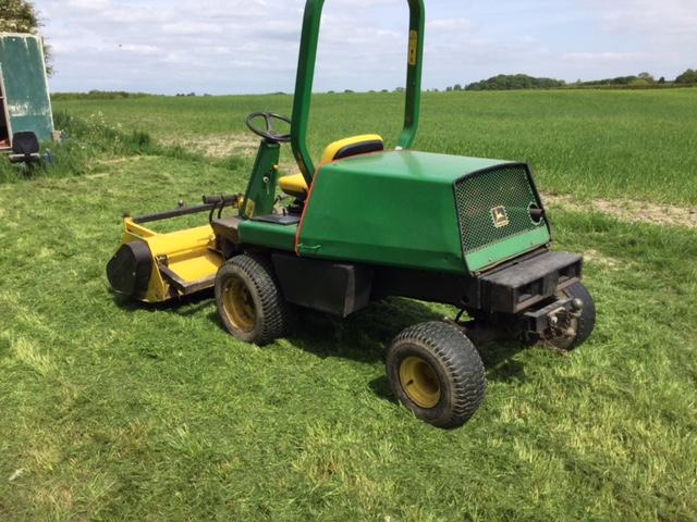 John Deere 1445 ride on flail mower | afors advert No43547
